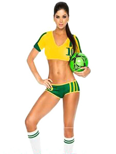 halloween-australia-football-cheering-squad-costume-multicolor-polyester-costume-for-women