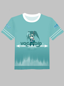 hatsune-miku-green-round-collar-t-shirt
