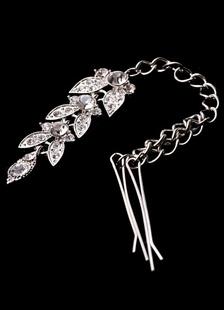silver-hairpin-rhinestone-chain-metal-hair-accessories