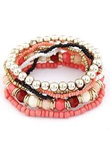 multicolor-layered-bracelet-beaded-boho-bracelet-for-women