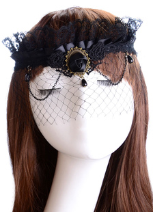 black-fascinator-net-hair-accessories-for-women