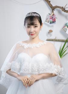 sheer-wedding-shawl-flower-lace-jewel-bridal-wraps