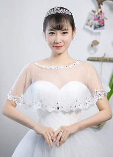 rhinestone-wedding-wraps-lace-flower-decorated-charming-shawl