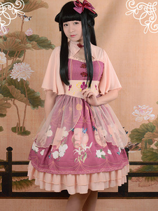 sweet-printed-lolita-op-dress-normal-waist