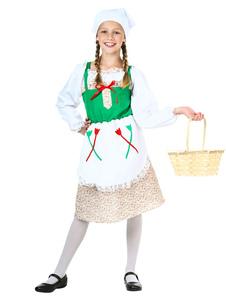 Image For Costume da cameriera Costume retrò vittoriano Kid