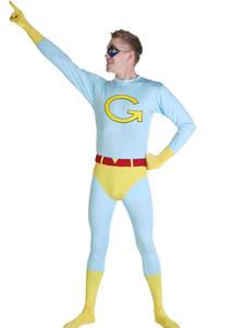Image For Vacanze di Carnevale divertente G stampa Super uomo Costume
