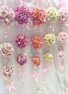 rose-flower-ball-wedding-decoration-3-ball