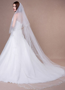 cathedral-weddding-veil-embroidered-scalloped-edge-waterfall-bridal-veil-with-comb300200cm