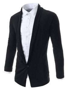 Giacca in maglia Slim Fit Cardigan da uomo