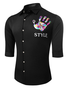 black-half-sleeve-shrit-for-men