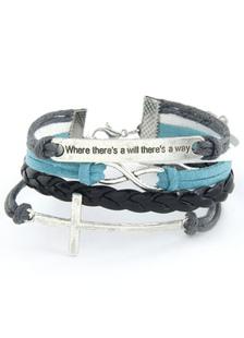 fashion-cross-wrap-bracelet