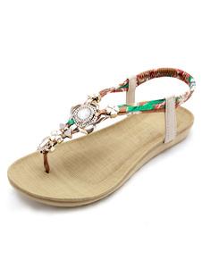 boho-sandals-metal-details-thong-flat-sandals
