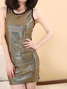 sexy-suspenders-tops-round-neck-sleeveless-night-club-dress