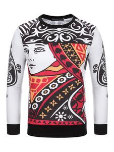 long-sleeves-sweatshirt-t-shirt-for-men-poker-print