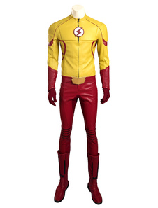 Image of Il Kid Flash Flash Wally West Carnevale Costume Cosplay Carnevale