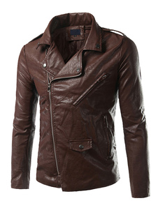 men-leather-jackets-brown-black-gray-biker-jacket-pu-street-style