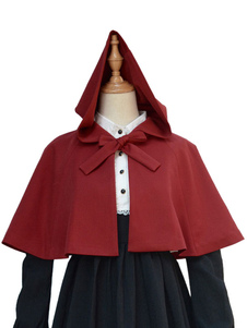 gothic-lolita-clothing-bow-short-little-red-riding-hood-lolita-hooded-cloak