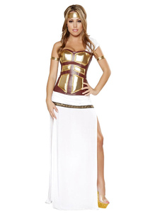 halloween-costume-greek-warrior-white-one-sleeve-slit-sexy-outfits