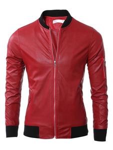 red-bomber-jacket-men-cotton-zipper-front-outwear