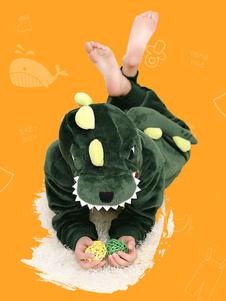 Image of Dinosaur Costume flanella tuta tutina Kigurumi pigiama bambini C