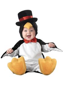 kigurumi-pajamas-penguin-onesie-toddlers-flannel-sleepwear-lovely-animal-costume