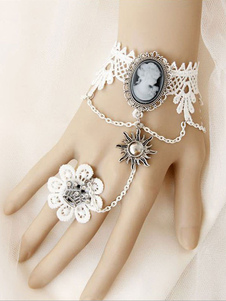 sweet-lolita-bracelet-white-lace-metal-chain-rhinestone-lolita-accesories-with-flower-ring