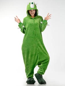 kigurumi-pajamas-mike-wazowski-monster-university-onesie-for-adult-flannel-green-anime-animal-cosplay-costume