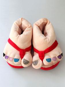 Accessoires de Costume Kigurumi pyjama Noël chausson Multicolor chaussures Halloween