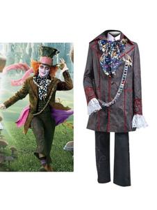 Image of Carnevale Costume Alice nel paese delle meraviglie Costume maschile Cappellaio Cosplay Carnevale