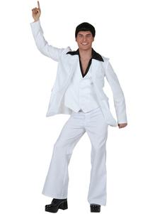 Image For Vestito di Carnevale Costume uomini pantaloni bianchi Halloween