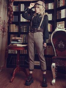 brown-sweet-lolita-pants-the-fog-of-baker-street-wool-lolita-pants