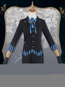 Image of Black Bulter Book Of The Atlantic Ciel Costume Cosplay Black Butler Ciel Phantomhive Cosplay Costume nero uomo Anime Giapponese set