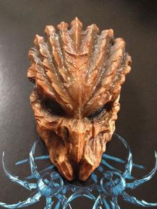 Image of Accessorio di costume di Carnevale Light Brown Alien VS Predator Resina Maschera spaventosa Carnevale