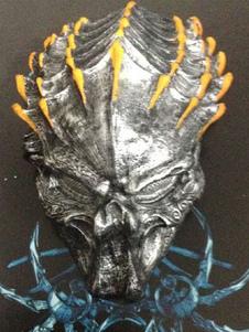 Image of Accessorio del costume di Carnevale Giallo Alien VS Predator Resina Maschera Scary Carnevale