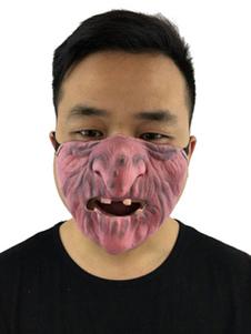 Image of Accessorio del costume di gomma unisex divertente della carne del mostro di Carnevale Carnevale
