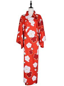 Image of Costume Giapponese per le vacanze set rosso di fiamma cotome la cultura mondiale abito