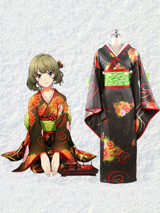 Image of The Idolmaster Cinderella Ragazze Takagaki Kaede Kawaii Idol Cosplay Costume