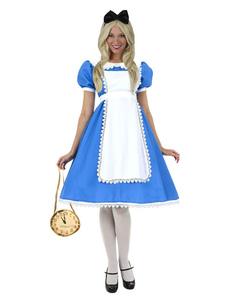 Image of Alice nel paese delle meraviglie Costume di Carnevale vestito di