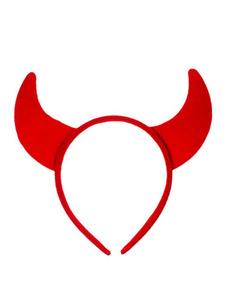 Image of Accessori per capelli accessori per adulti per donni accessori per la testa mago Carnevale rossi di plastica