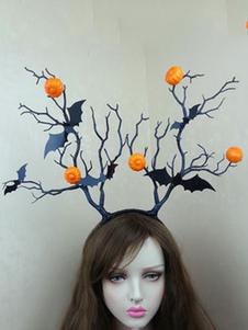 Image of Accessori per capelli accessori per adulti unisex accessori per la testa strega Carnevale arancioni di resina