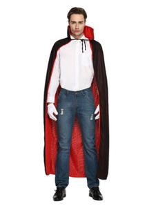 Image of Mantello Vampiro per adulti per uomo Carnevale mantello nero di