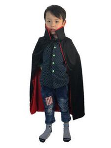 Image of Mantello Vampiro bambino Carnevale mantello nero di poliestere