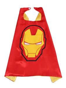 Image of Iron Man Costume Kids Red Cloak per ragazzi Carnevale