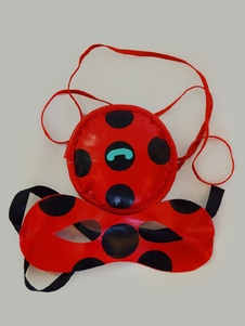Image of Accessorio Cosplay Miraculous Ladybug Gioco borsa&mascherina per