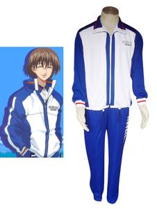 Image of Costume Cosplay Prince of Tennis The Prince of Tennis uomo blu i