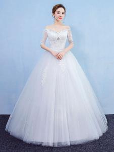 Image of Abito da sposa principessa Abiti da sposa Abito da sposa con man