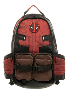 Image of Zaino Deadpool Marvel Comics Film Nero PU Zaino