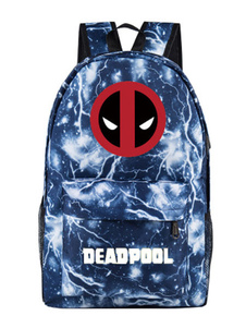 Image of Zaino Deadpool Marvel Comics Zaino in nylon blu