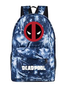 Image of Zaino Deadpool Marvel Comics Zaino in nylon blu
