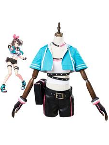 Image of Virtual YouTuber Kizuna AI Halloween Costume Cosplay AI Giochi Channel Version
